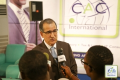 Interview de Son Excellence M. Merzak BEDJAOUI dans le salon CAC International